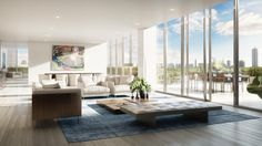 You will benefit of access to private elevators, summer kitchens, impressive plunge pools and each unit has stone floors in all common areas.  #TheRitz-CarltonResidencesMiamiBeach #MiamiRealEstateTrends