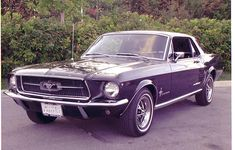 If this was green it would look like my 68 Mustang my ex husband got in the divorce. F@#$**)(@#*)($*@