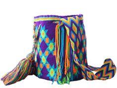 Purple Rain Wayuu Mochila #mochila #wayuu #multicolor