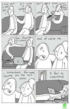 Opposites do attract. Life Comics, Bff, Introvert Cat, Infp Dating, Dog Pictures, Hilarious Pictures, Introvert Problems, Infj Personality, Intj