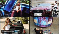 صور أبرز سيارات المشاهير لعام 2016 - موقع تيربو العرب