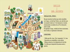 #Web Antigua : 1ª idea para interactuar con los posibles clientes - a través de la web propusimos un juego para conseguir descuentos en los alojamientos