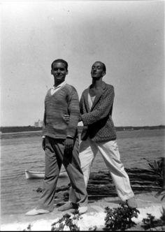 Federico Garcia Lorca, poet and Salvador Dali, painter