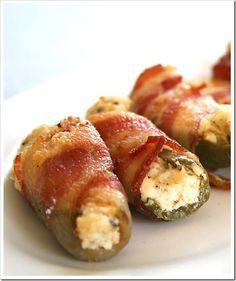 Bacon Wrapped Cream Cheese Jalapeno Bites