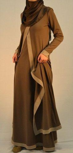 Jilbaab Trend 2014 with Good Ankle-Length Jacket | Hijab 2014