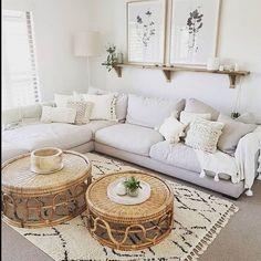 Boho Living Room, Home And Living, Bohemian Living, Living Room Decor Simple, Small Living, Country Style Living Room, Cute Living Room, Bohemian Bedrooms, Cozy Living Rooms