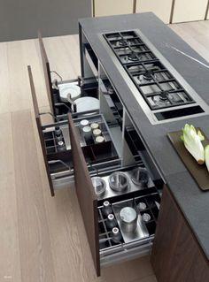 Modulnova Moon Gola Kitchen Design | Modern Italian Design @ DesignSpaceLondon