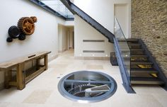 That's a basement wine cellar in the floor.