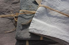Washed Linen Tablecloth - Granite - Two Sizes
