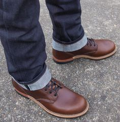 Red Wing Gentleman Traveler (now known as Beckman Style 9016)