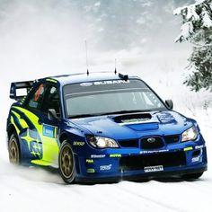 Subaru WRX Sti performing with sporty, so many consumers are approached because adrift in terms of body and elegant look. Subaru Rally, Subaru Impreza Wrc, Subaru Forester, Wrx Sti, Autos Rally, Rally Car, Sti Car, Rallye Wrc, Japanese Cars
