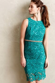 Mendoza Lace Column Dress