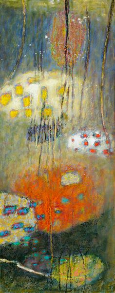 "Rick Stevens ""Implicate Becoming Multiform Explicate"" Oil on Canvas"