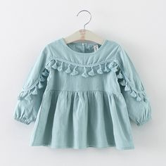 Cheap newborn dress, Buy Quality baby dress directly from China baby dresses girl Suppliers: new 2016 spring autumn tassel baby dresses girl clothes casual toddler girls party dress suit age newborn dress for girls Dresses Kids Girl, Girls Party Dress, Girl Outfits, Baby Dresses, Peasant Dresses, Dress Girl, Long Dresses, Cotton Dresses, Baby Girl Fashion