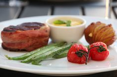BIFF MED BEARNAISE | TRINES MATBLOGG Green Beans, Om, Meat, Chicken, Vegetables, Vegetable Recipes, Veggies, Cubs