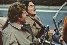 Love Story, Ali MacGraw and Ryan O'Neal...love means never having to say your sorry
