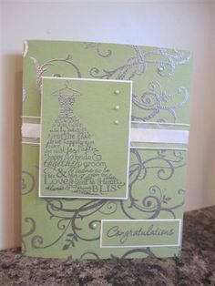 Love and Laughter    wedding card by lilredheadjen - Cards and Paper Crafts at Splitcoaststampers