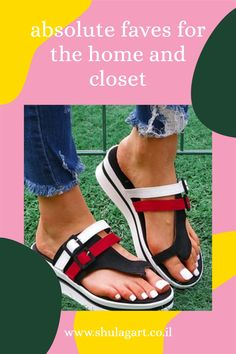 Red & White Color Block Platform Sandal - Women .toe-strap sandals boasting a tall platform sole and color block design. (05/2021) $22.99 sandálias com tira de dedo sandalias con tiras en la puntera sandali con cinturino in punta sandales à bride burunlu sandalet الصنادل اصبع القدم#PlatformSandal #TallPlatform #2021 #Zulily Strap Sandals, Shoes Sandals, Block Design, Birkenstock Milano, Cowboy Boots, Clogs, Shoe Boots, Nike, Sneakers
