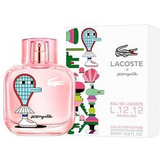 Sparkling Jeremyville Collector Edition perfume for Women by Lacoste Buy Perfume Online, Perfume Store, Perfume Bottles, Lacoste, Fragrance Outlet, Best Online Stores, Cheap Perfume, Discount Perfume, Cosmetics & Perfume