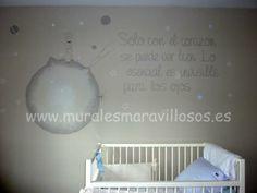 Decoración para bebés - Mural El Principito