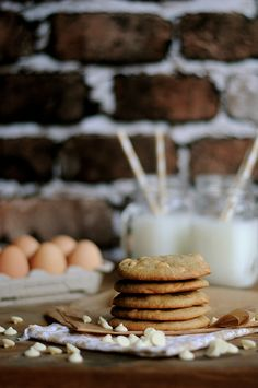 Browned Butter White Chocolate Macadamia Nut Cookies