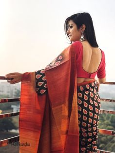 Are you researching for the best Elegant Designer Indian Sari including items like Classic Sari plus Bollywood saree then you'll like this Click above VISIT link for more indianfashion Saree Blouse Neck Designs, Fancy Blouse Designs, Blouse Patterns, Dress Designs, Trendy Sarees, Stylish Sarees, Fancy Sarees, Stylish Blouse Design, Elegant Saree