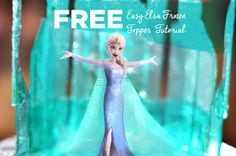 free_elsa_frozen_topper_tutorial