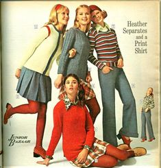 The First Colleen Corby Fan Community - Sears Catalogs - Photo of 301 60s And 70s Fashion, Seventies Fashion, Teen Fashion, Retro Fashion, Vintage Fashion, Mode Vintage, Retro Vintage, Colleen Corby, Seventeen Magazine