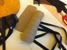 bracers, partially constructed.