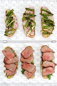 Panini vom Grill mit Roastbeef und Spargelpesto - Chef Hansen