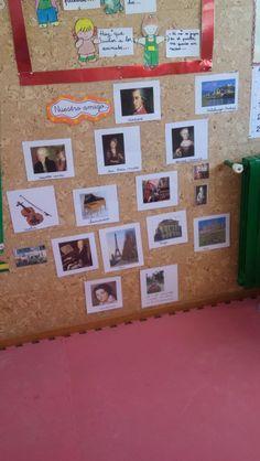 El rincón de Mozart en la asamblea #curiosidades #proyecto #mozart #educación #infantil #colegio #vida #música #asamblea #rincón