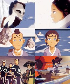 Sokka & Katara: Southern Water Tribe growing up, avatar last Airbender The Last Avatar, Avatar The Last Airbender Art, Korra Avatar, Team Avatar, Legend Of Aang, Avatar World, Water Tribe, Avatar Series, Korrasami