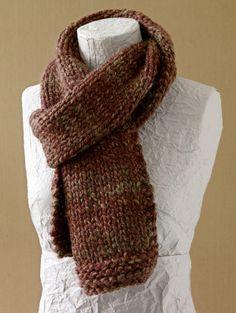 Free Knitting Pattern: Basic Scarf