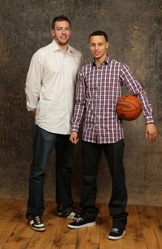 3dea6ea1657a David Lee and Stephen Curry. My Golden State Boys. Hottest Curry