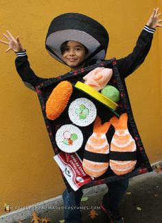 Happy Sushi Dance Costume