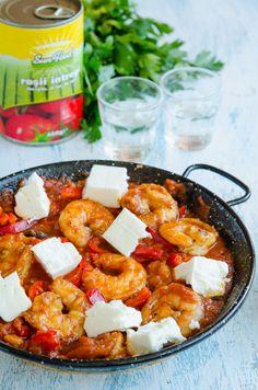 Creveti saganaki - Din secretele bucătăriei chinezești Shrimp, Healthy Recipes, Healthy Food, Curry, Toast, Food And Drink, Yummy Food, Dinner, Breakfast