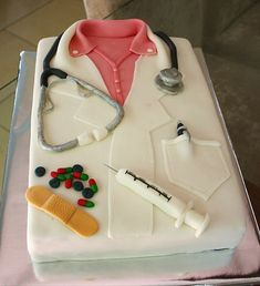 Doctor cake | Flickr - Photo Sharing!