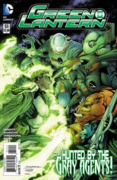 DC Comics - Green Lantern (2011) #51
