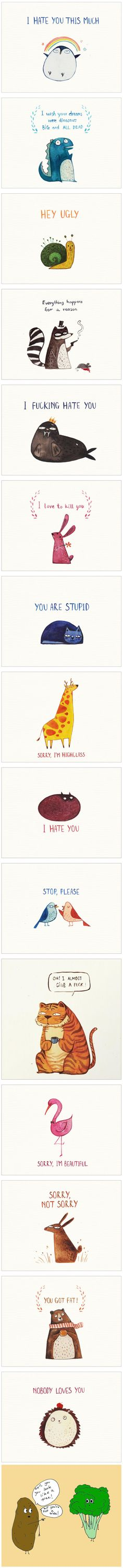 15 Postcards For Your Enemies