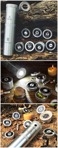 VSSL - Everything you need to survive in a flashlight-sized tube.