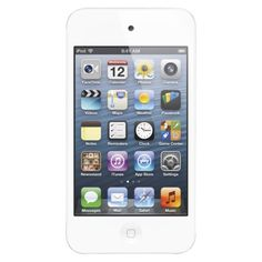 Apple iPod touch 32GB MP3 Player (4th Generation) with touch-screen, Wi-Fi - White (MD058LL/A)