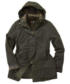 Beadnell hooded Barbour Jacket