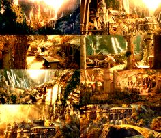 Rivendell- if I could live anywhere its tied between here and the beasts castle.