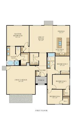 45 Best Lennar Floorplans Single Story Images New House