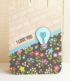 Love this card by Mary Dawn using the April 2014 card kit by Simon Says Stamp.