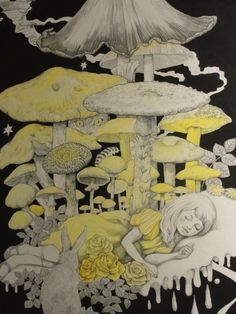 ALICE IN WONDERLAND BY HIGUCHI YUKO