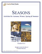 Seasons Printable Book (Grades K-6) - This printable book of seasonal lesson plans and activities for grades K-6 includes art projects, science experiments, and research ideas.