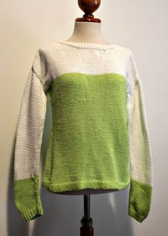 Sionaland: Baby blue sweater by anna ravenscroft con baby cotton de ice yarns