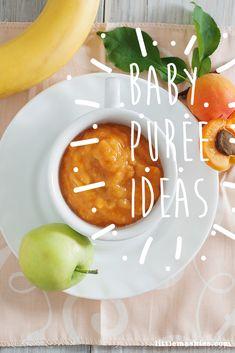 Little    Mashies Apple, Apricot & Banana Puree - Baby puree ideas by Little    Mashies www.littlemashies.com