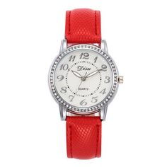 2018 Top Luxury Ladies Quartz Watch Women Brand Fashion Leather Watches High Quality Women Watches Reloj Mujer Relogio Feminino Simple Cheap Watches outfit accessories from Touchy Style store Cute Watches, Cheap Watches, Vintage Watches, Watches For Men, Women's Watches, Teenager Fashion Trends, Watches Photography, Swiss Army Watches, Rose Gold Watches